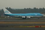 Koenig117さんが、成田国際空港で撮影したKLMオランダ航空 747-406Mの航空フォト(写真)
