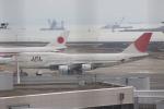 しかばねさんが、羽田空港で撮影した日本航空 747-446の航空フォト(写真)