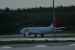 ユキモリさんが、那覇空港で撮影した日本トランスオーシャン航空 737-4Q3の航空フォト(写真)