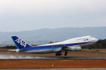 安芸あすかさんが、長崎空港で撮影した全日空 747-481の航空フォト(写真)