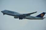 ぺすんさんが、関西国際空港で撮影したルフトハンザドイツ航空 747-430の航空フォト(写真)