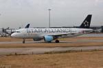 ロンドン・ヒースロー空港 - London Heathrow Airport [LHR/EGLL]で撮影されたオーストリア航空 - Austrian Airlines [OS/AUA]の航空機写真