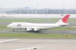 しかばねさんが、羽田空港で撮影した日本航空 747-346の航空フォト(写真)