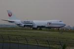 meijeanさんが、名古屋飛行場で撮影した日本航空 747-246Fの航空フォト(写真)