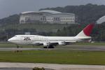 Gambardierさんが、福岡空港で撮影した日本航空 747-146B/SR/SUDの航空フォト(写真)