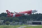 pringlesさんが、成田国際空港で撮影したエアアジア・ジャパン(〜2013) A320-216の航空フォト(写真)