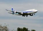 bluesky05さんが、成田国際空港で撮影した全日空 747-481の航空フォト(写真)
