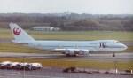 新城良彦さんが、成田国際空港で撮影した日本航空 747-246Bの航空フォト(写真)