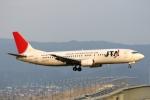 青春の1ページさんが、関西国際空港で撮影した日本トランスオーシャン航空 737-4Q3の航空フォト(写真)