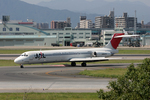 tsubameさんが、福岡空港で撮影した日本航空 MD-87 (DC-9-87)の航空フォト(写真)