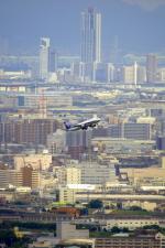 伊丹で撮影された日本の航空機写真