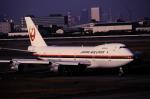 チャーリーマイクさんが、羽田空港で撮影した日本航空 747-246Bの航空フォト(写真)