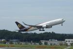 pringlesさんが、成田国際空港で撮影したUPS航空 767-34AF/ERの航空フォト(写真)