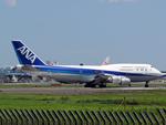 atsushiさんが、成田国際空港で撮影した全日空 747-481の航空フォト(写真)