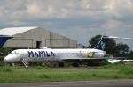 Guwapoさんが、ディオスダド・マカパガル国際空港で撮影したエアマニラ MD-83 (DC-9-83)の航空フォト(写真)