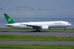 Tomo-Papaさんが、羽田空港で撮影したトルクメニスタン航空 777-22K/LRの航空フォト(写真)