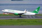 Tomo-Papaさんが、羽田空港で撮影したトルクメニスタン航空 737-82Kの航空フォト(写真)