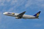 チャーリーマイクさんが、福岡空港で撮影したスカイマーク 767-38E/ERの航空フォト(写真)