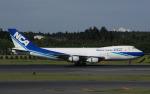 チャーリーマイクさんが、成田国際空港で撮影した日本貨物航空 747-2D3B(SF)の航空フォト(写真)