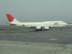 おじゃるまるさんが、ジョン・F・ケネディ国際空港で撮影した日本航空 747-446の航空フォト(写真)