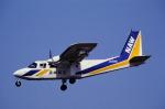 チャーリーマイクさんが、福岡空港で撮影した長崎航空 BN-2B-20 Islanderの航空フォト(写真)