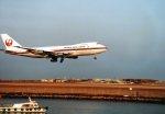 YOSHさんが、羽田空港で撮影した日本航空 747SR-46の航空フォト(写真)