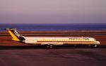 チャーリーマイクさんが、大分空港で撮影した東亜国内航空 MD-81 (DC-9-81)の航空フォト(写真)