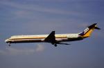 チャーリーマイクさんが、福岡空港で撮影した日本エアシステム MD-81 (DC-9-81)の航空フォト(写真)