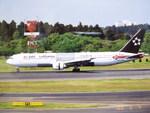 yanaさんが、成田国際空港で撮影したスカンジナビア航空 767-383/ERの航空フォト(写真)