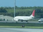 pepeA330さんが、那覇空港で撮影した日本トランスオーシャン航空 737-4Q3の航空フォト(写真)
