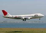 Bokuranさんが、関西国際空港で撮影した日本アジア航空 747-246Bの航空フォト(写真)