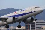 ぽっぽさんが、伊丹空港で撮影した全日空 A320-211の航空フォト(写真)