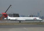 チャーリーマイクさんが、羽田空港で撮影した日本航空 MD-87 (DC-9-87)の航空フォト(写真)