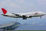 yuuka no kazeさんが、関西国際空港で撮影した日本航空 747-346の航空フォト(写真)