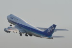 B777さんが、羽田空港で撮影した全日空 747-481の航空フォト(写真)