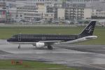 Mottyさんが、福岡空港で撮影したスターフライヤー A320-214の航空フォト(写真)