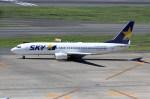 J-bird8582さんが、羽田空港で撮影したスカイマーク 737-86Nの航空フォト(写真)