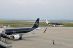 Cipher01さんが、北九州空港で撮影したスターフライヤー A320-214の航空フォト(写真)