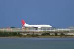 JA1118Dさんが、那覇空港で撮影した日本トランスオーシャン航空 737-4Q3の航空フォト(写真)