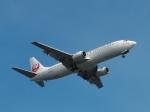 aquaさんが、羽田空港で撮影した日本トランスオーシャン航空 737-446の航空フォト(写真)