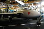kanadeさんが、デューベンドルフ飛行場で撮影したスイス空軍 DH.100 Vampire FB5の航空フォト(写真)