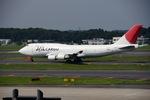 ぽてさんが、成田国際空港で撮影した日本航空 747-446(BCF)の航空フォト(写真)
