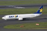 mameshibaさんが、羽田空港で撮影したスカイマーク 737-86Nの航空フォト(写真)
