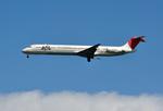 aMigOさんが、羽田空港で撮影したJALエクスプレス MD-81 (DC-9-81)の航空フォト(写真)