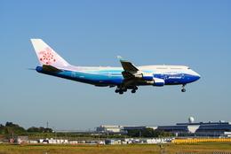 うまやどのおいるさんが、成田国際空港で撮影したチャイナエアライン 747-409の航空フォト(写真)