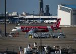 paje0433さんが、成田国際空港で撮影したエアアジア・ジャパン(〜2013) A320-216の航空フォト(写真)