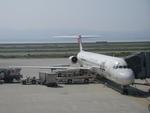 はなじろさんが、関西国際空港で撮影した日本航空 MD-81 (DC-9-81)の航空フォト(写真)