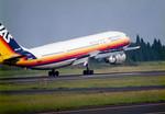 mukku@RJFKさんが、鹿児島空港で撮影した日本エアシステム A300B4-2Cの航空フォト(写真)