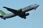 FKさすけさんが、羽田空港で撮影したソラシド エア 737-4Y0の航空フォト(写真)
