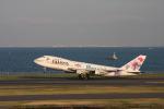 maverickさんが、羽田空港で撮影したJALウェイズ 747-246Bの航空フォト(写真)